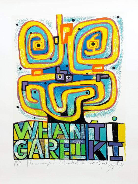 Hommage à Hundertwasser - Dick Frizzell