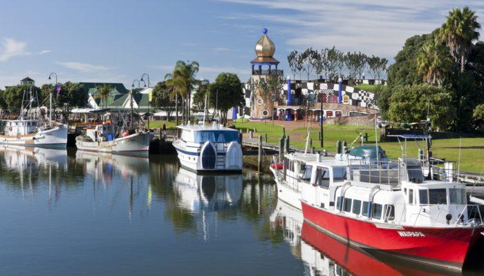 Proposed Hundertwasser Art Centre with Wairau Māori Art Gallery